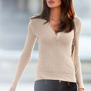 Victoria's Secret | Open Knit Top